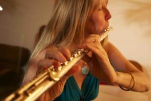 Tara on Flute
